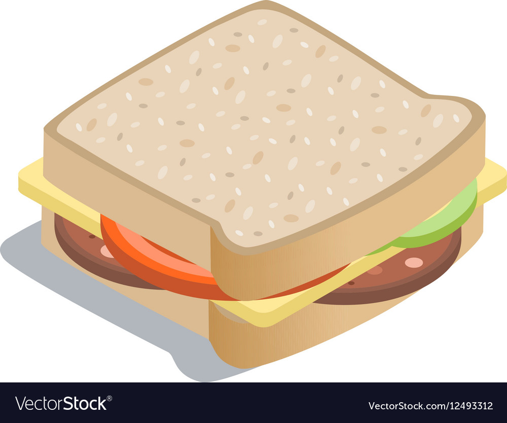 Isometric of sandwich