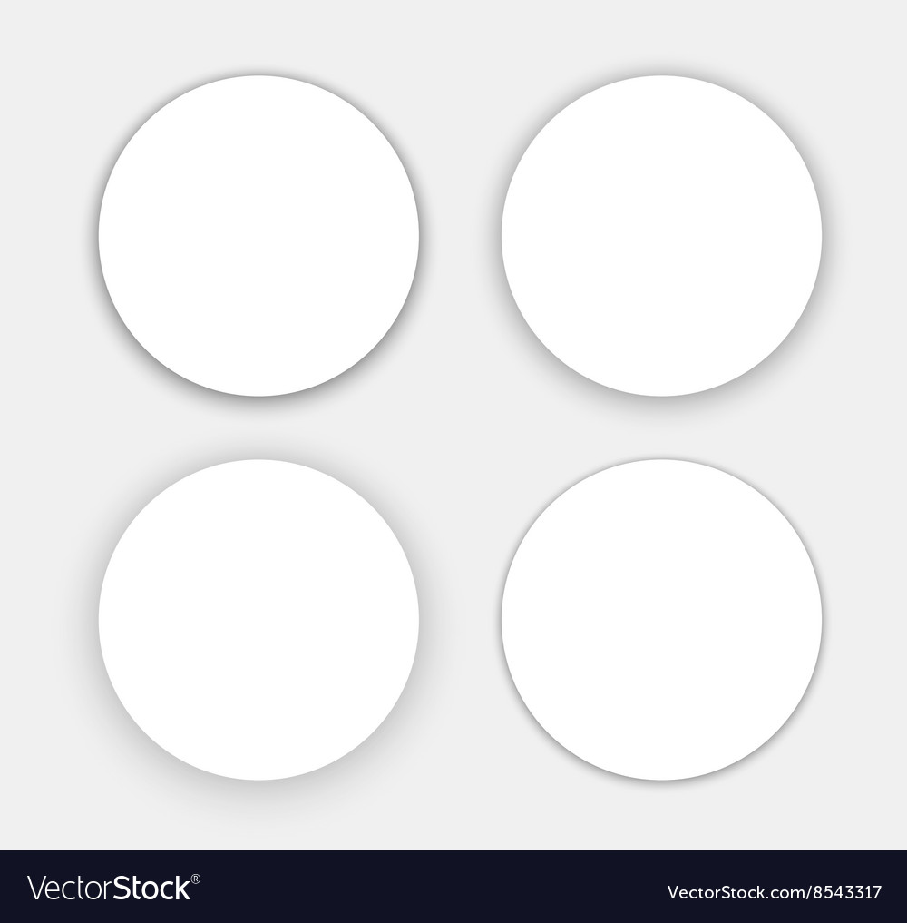 A set of banners hanging in the air vector image
