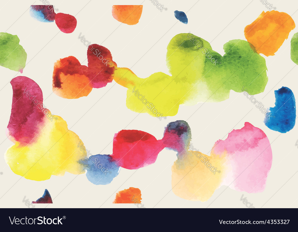 Watercolor pattern abstraction