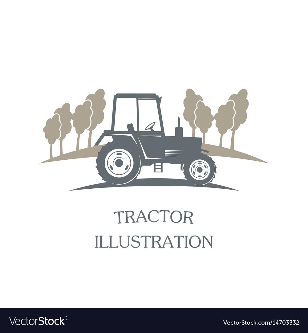 Logotype tractor
