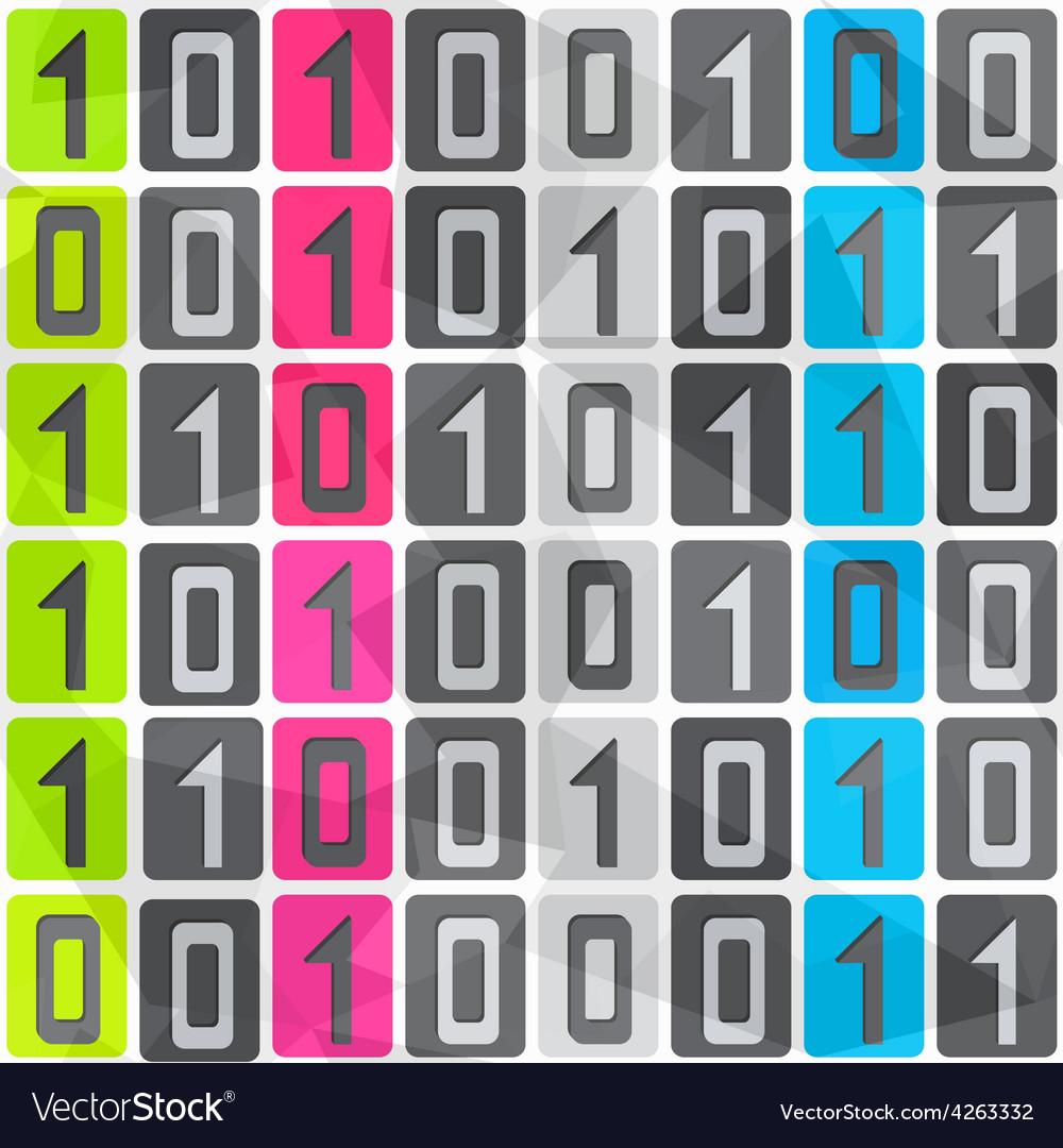 Tech seamless pattern