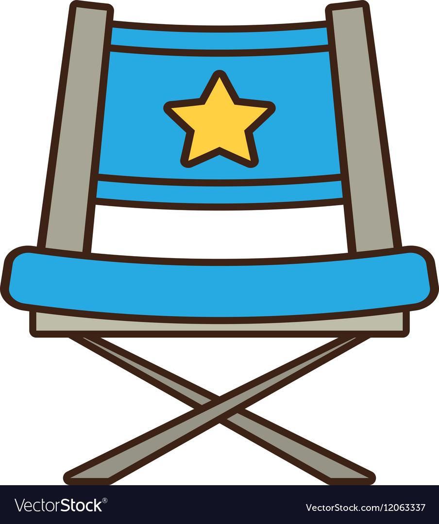 Blue chair star director film