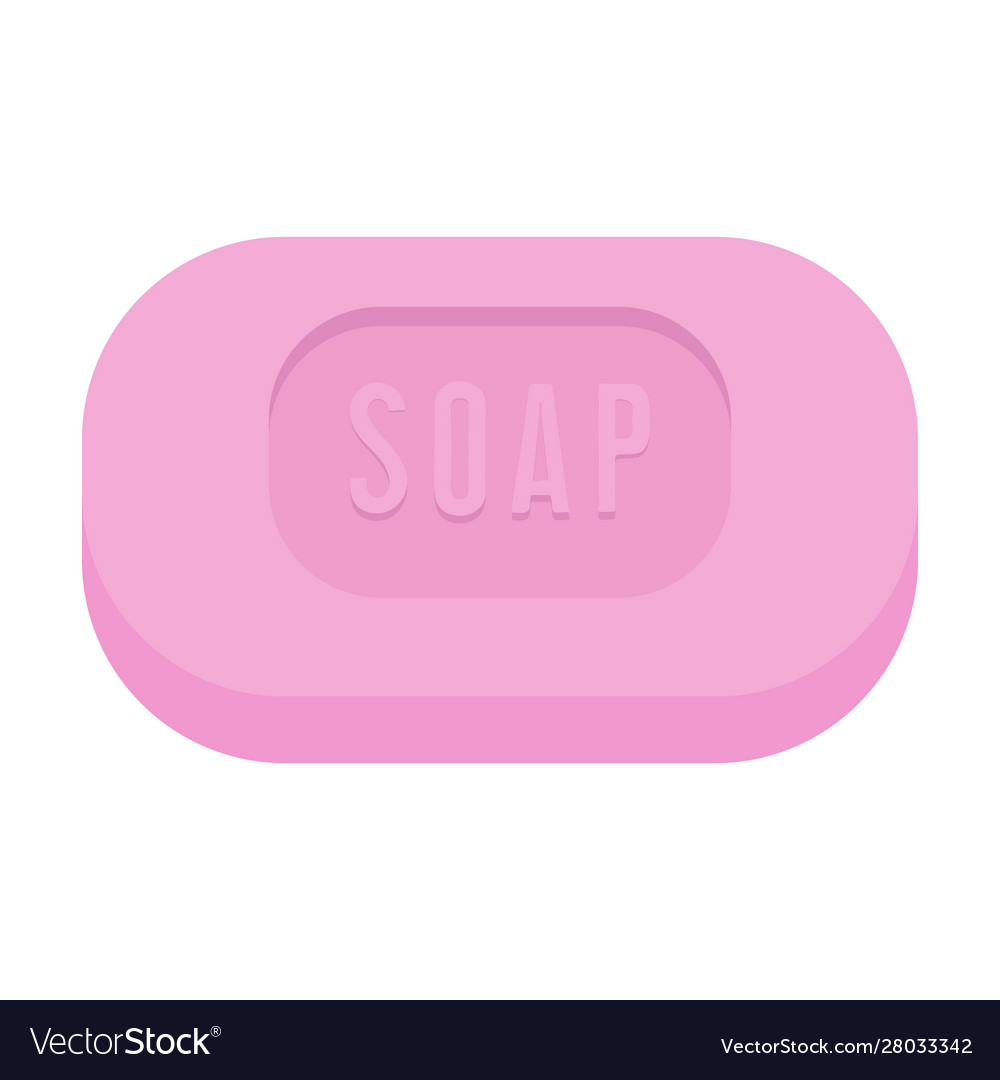 bar soap isolated on white background royalty free vector vectorstock