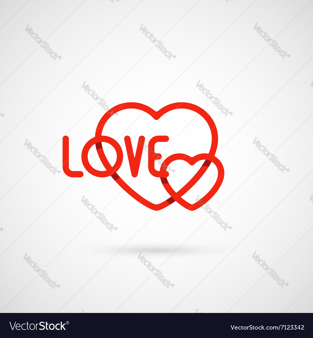 Heart and love symbol