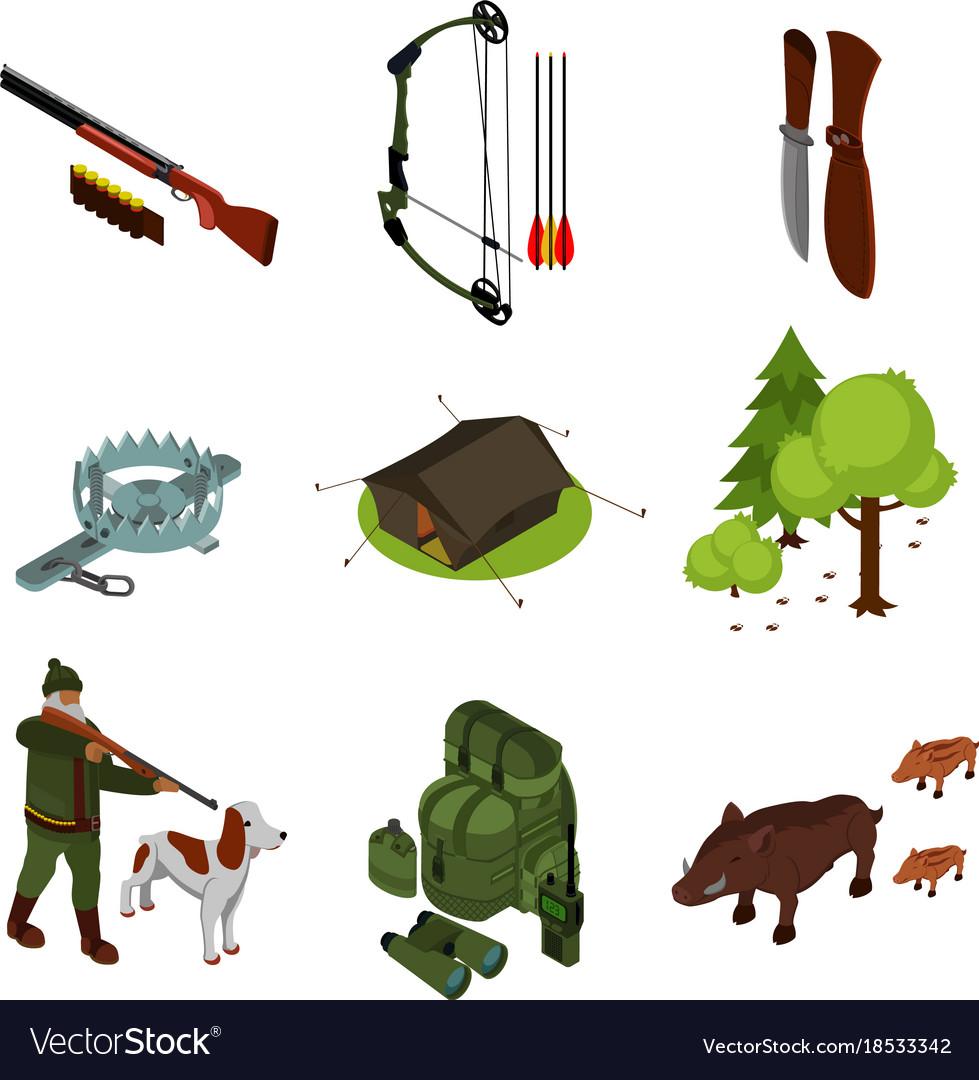 Isometric hunting set