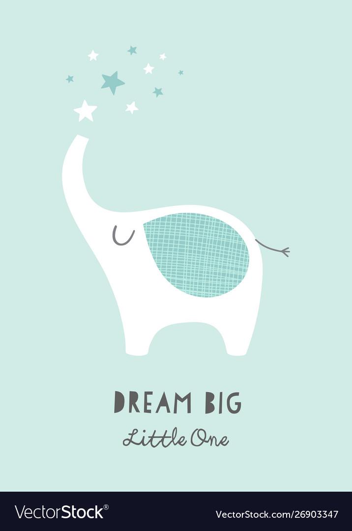 Dream Little One Nursery Poster