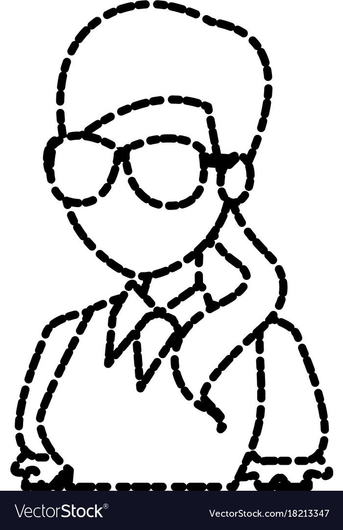 School teacher cartoon