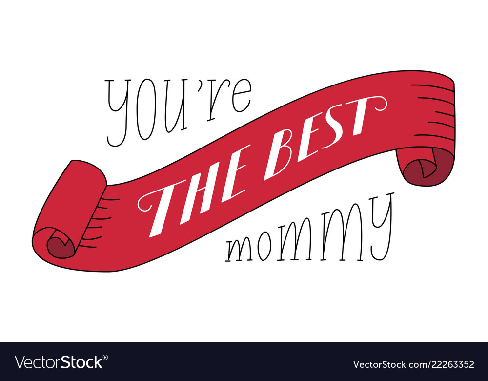mothers day festive congratulatory template vector image