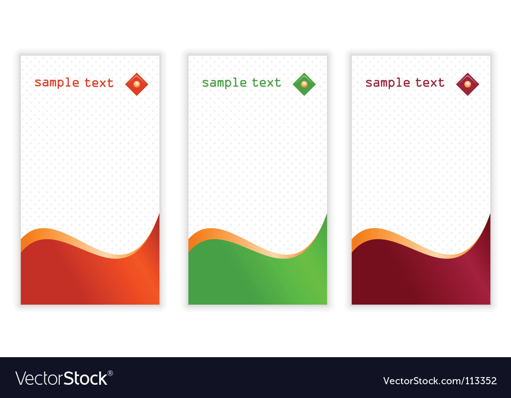 Vertical business cards royalty free vector image vertical business cards vector image reheart Images