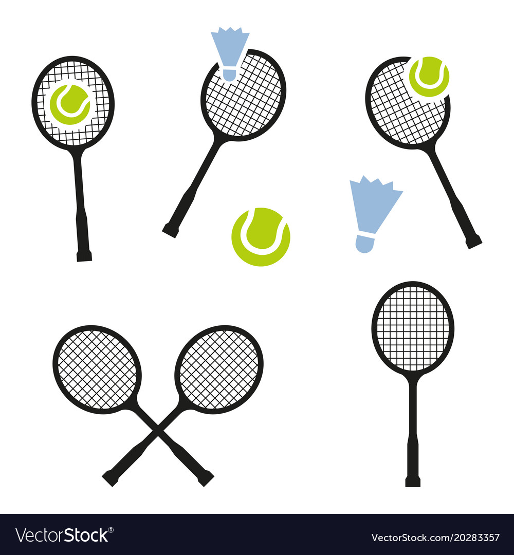 Tennis racket sign icon sport symbol
