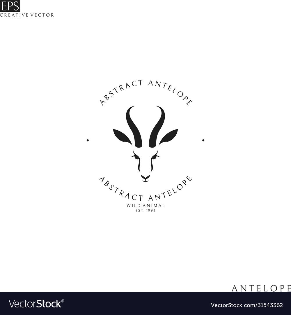 Antelope springbok logo
