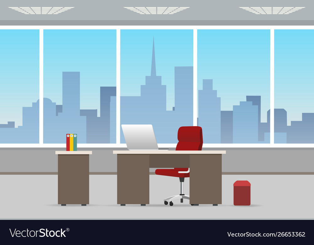Office room business interior