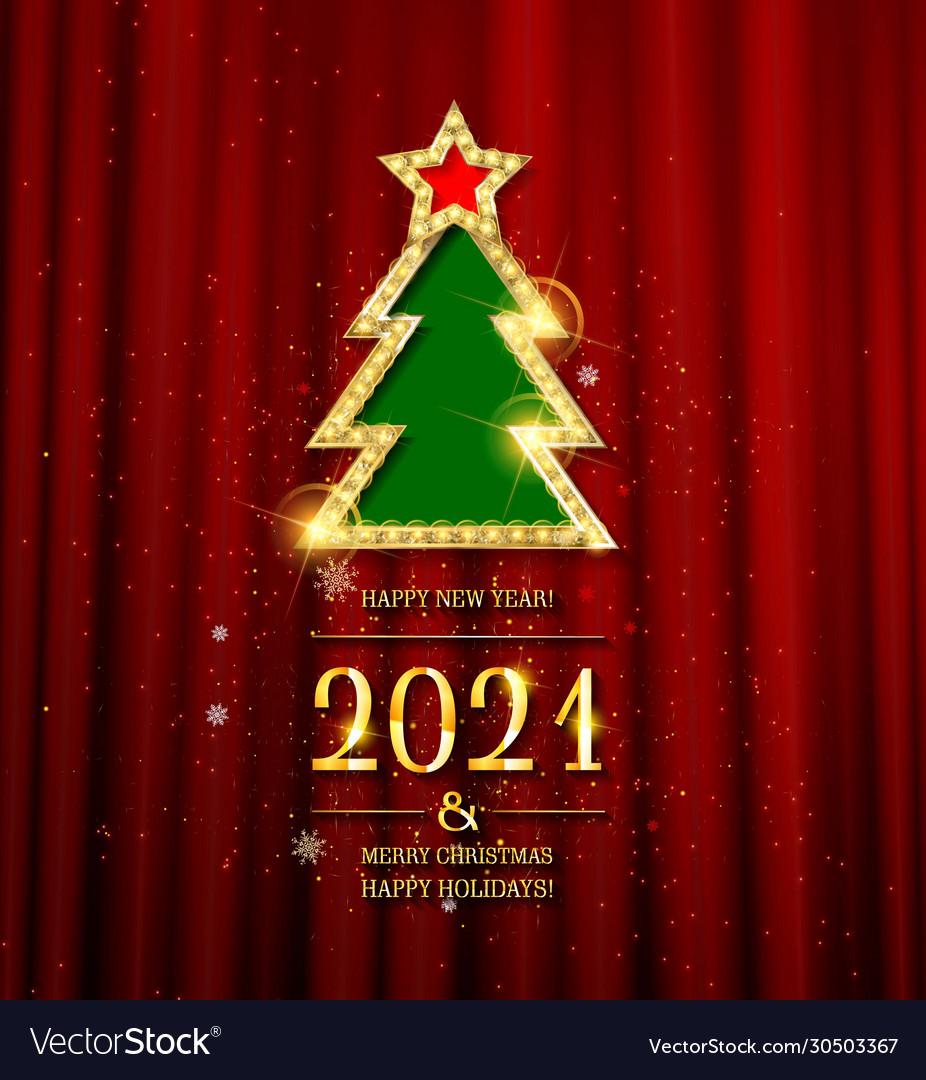 2021 gold text