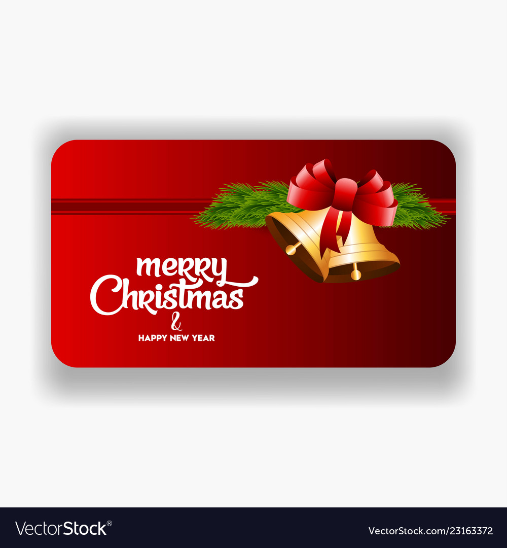 Christmas Party Banner Template Royalty Free Vector Image