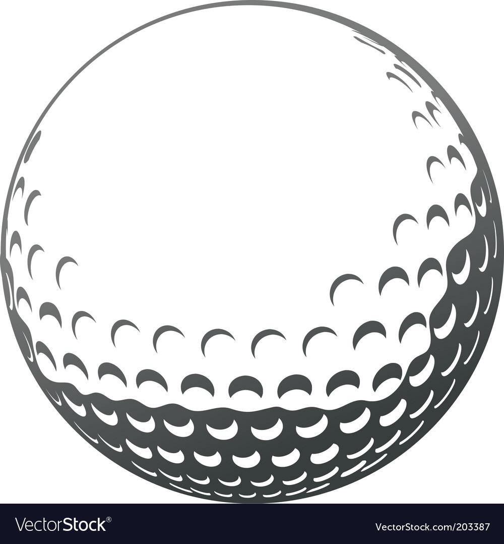 golf icon royalty free vector image vectorstock rh vectorstock com vector golf ball vector golf cart wheels