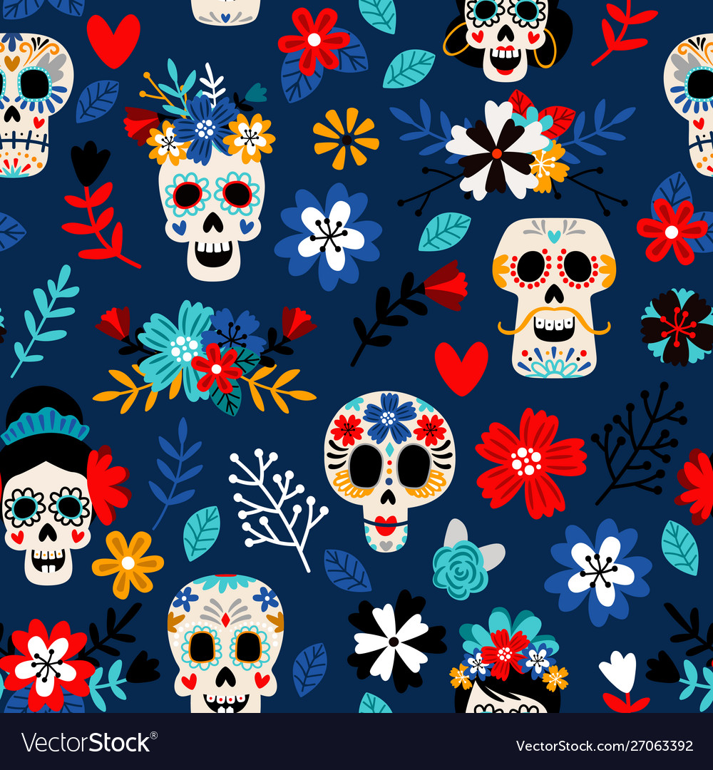 Day dead pattern