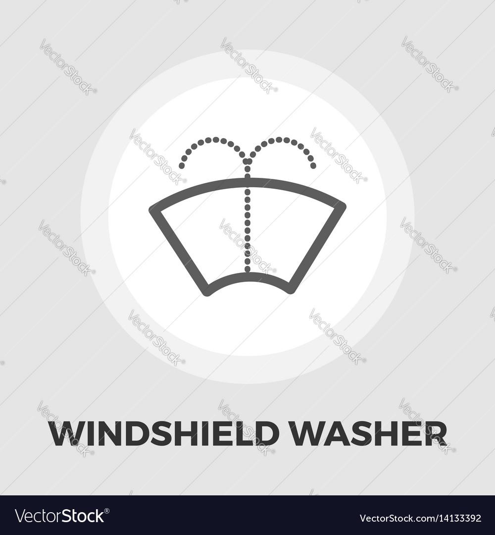 Wiper icon flat