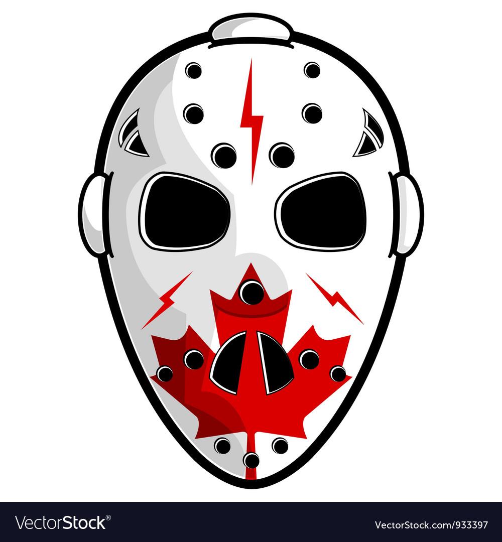 Canadian hockey mask