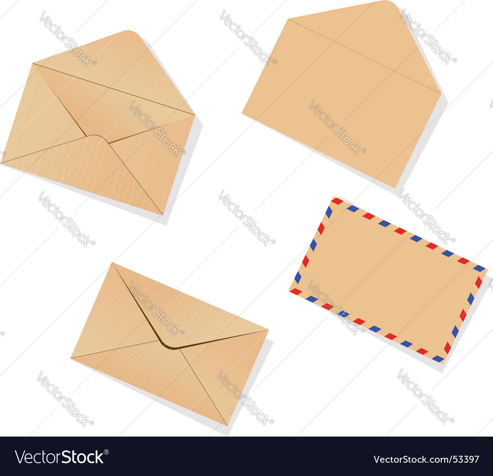 Different envelopes