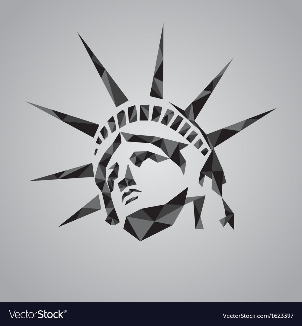 Statue of liberty symbol