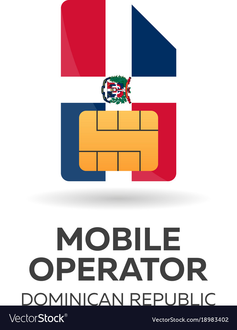 Dominican republic mobile operator sim card with