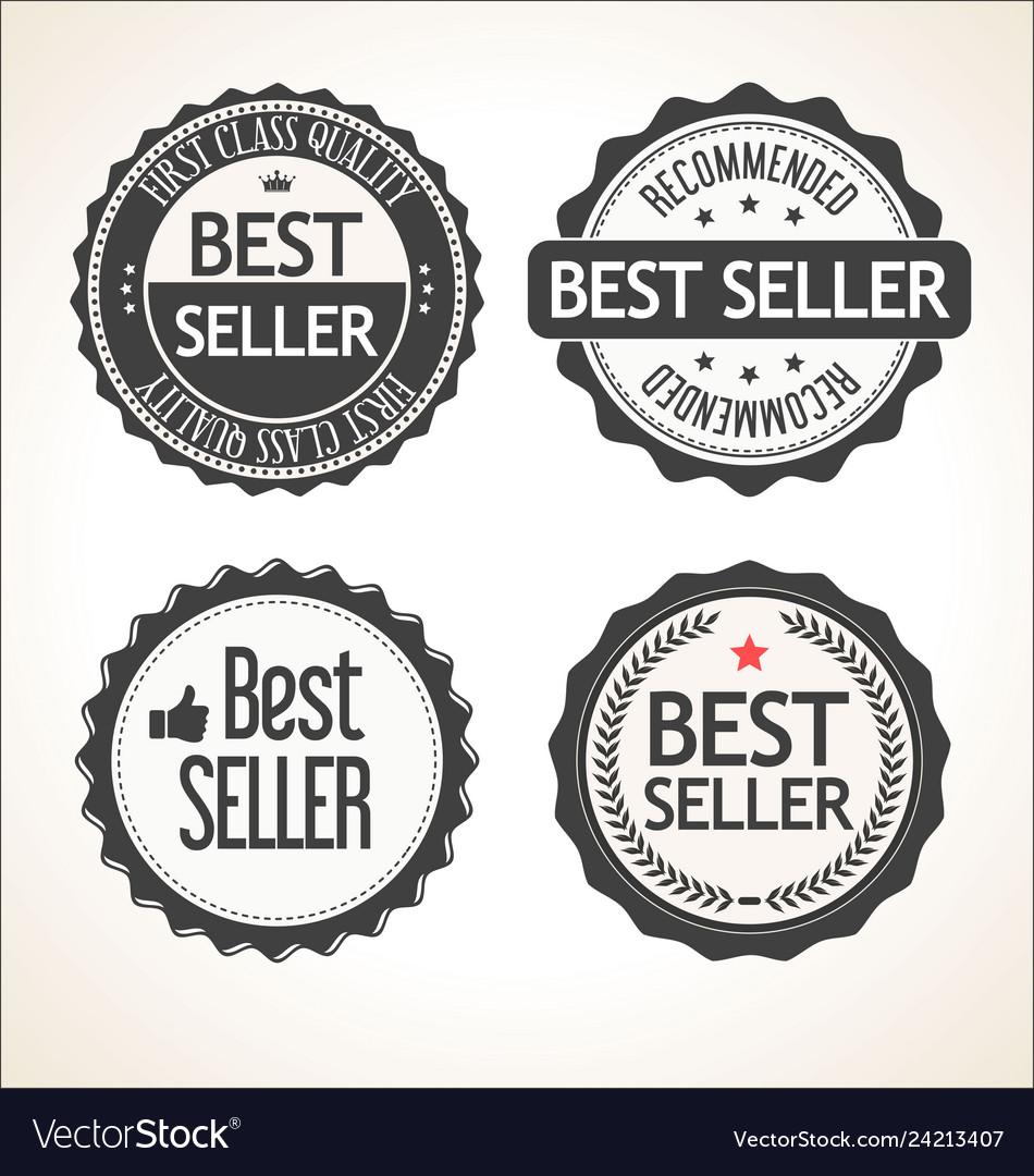 Best seller retro vintage badge and labels