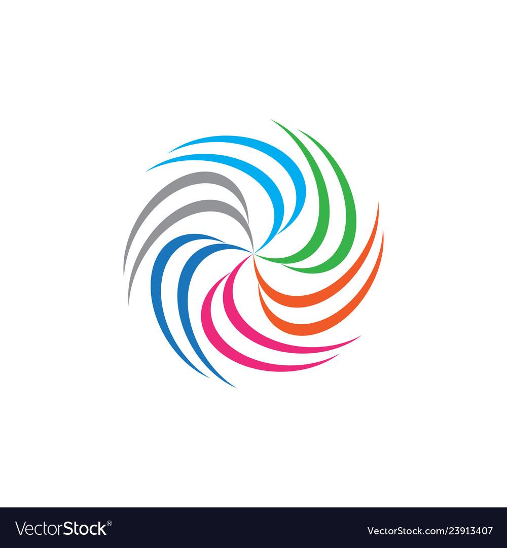 Circle technology business logo