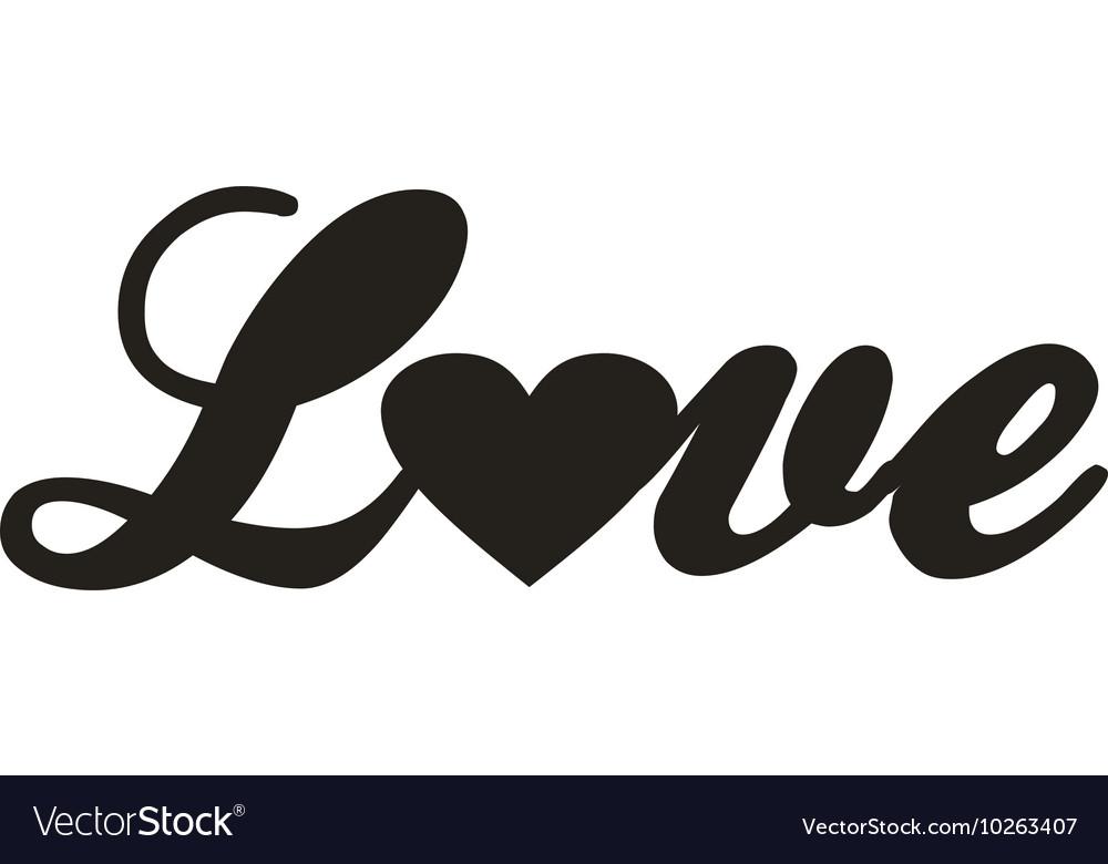 Love design icon