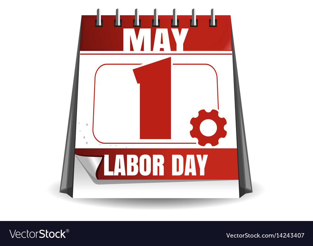 May 1 Labor Day Calaendar Workers Day