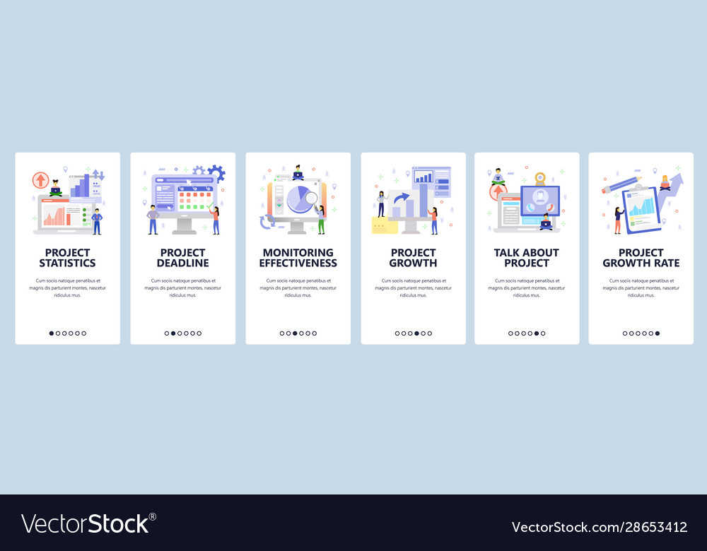 Business isometric icons project analytics
