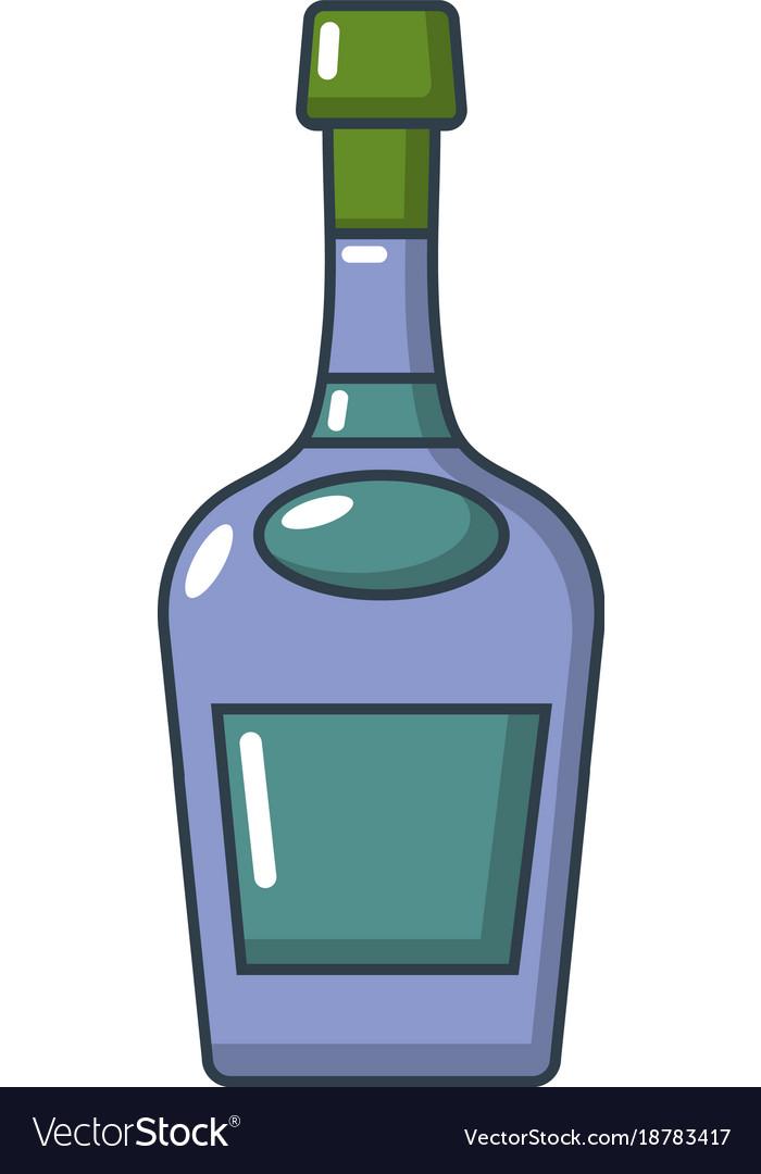 Alcohol icon cartoon style