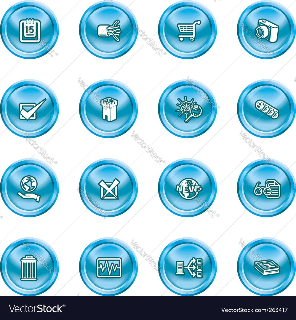 Computer and web icons