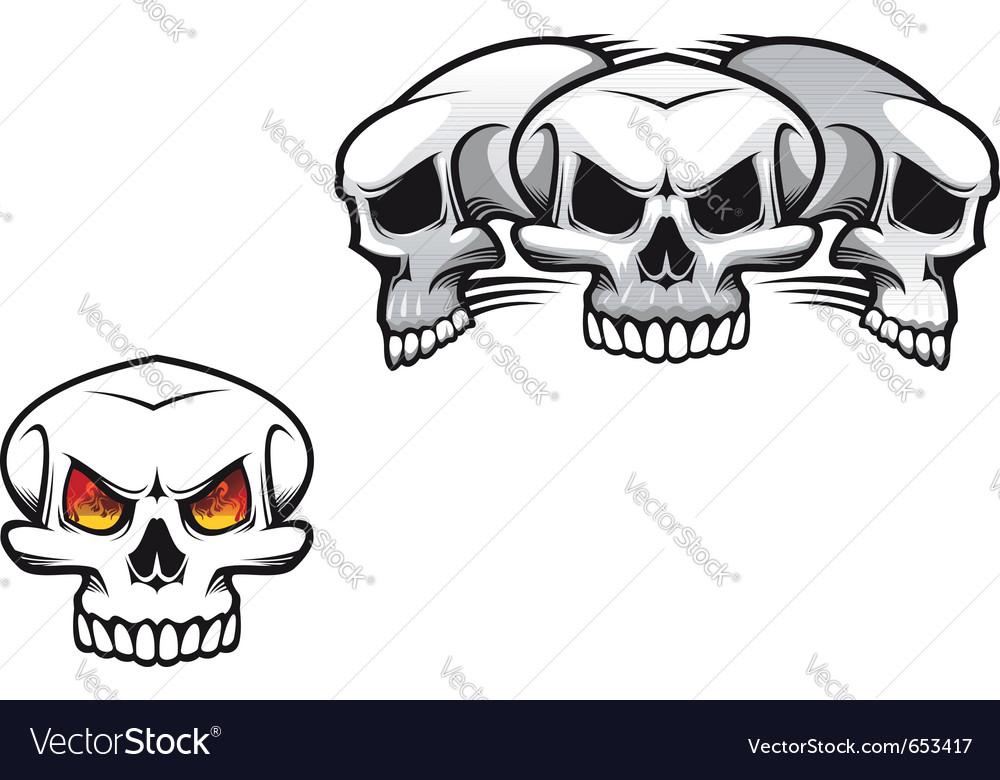 Danger skulls