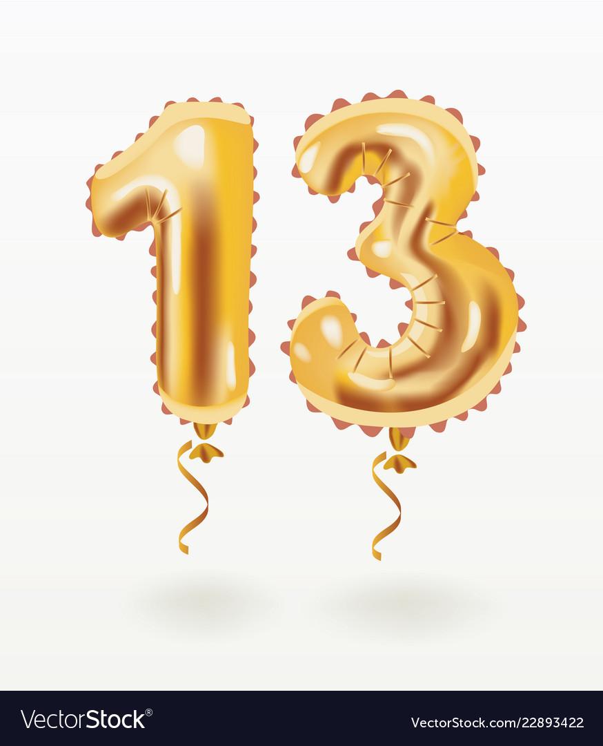 Air balloon thirteen years anniversary celebration