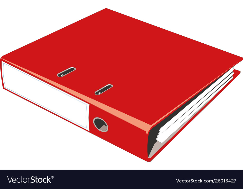 Blank Book Cover Binder Or Folder