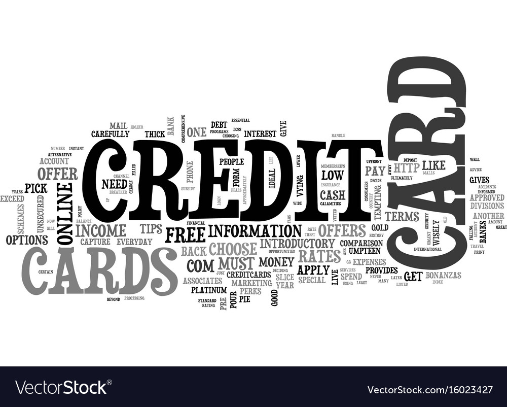 Essential tips on how to get a credit card text