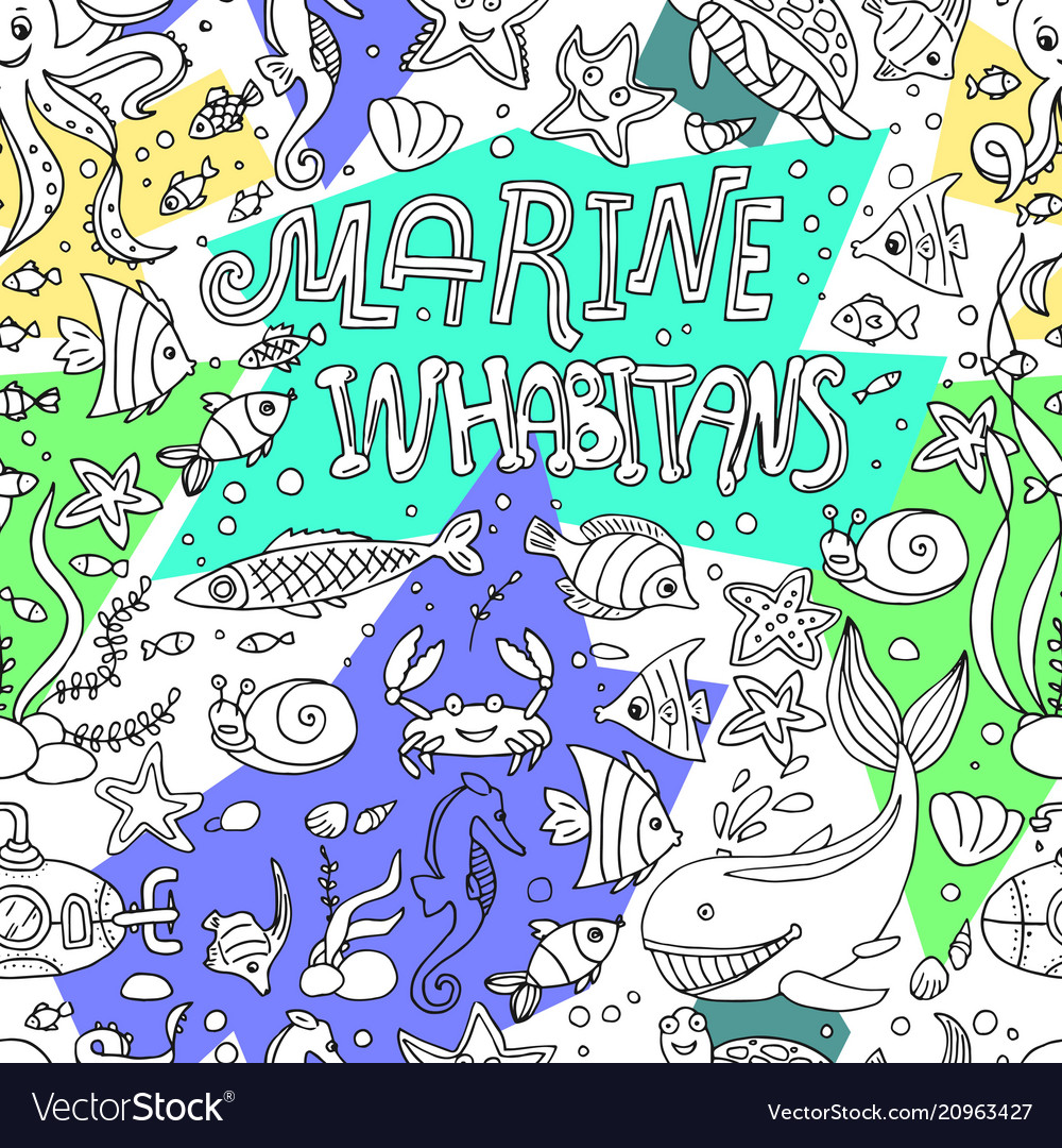 Marine inhabitans