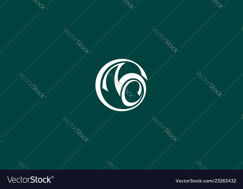 Abstract number 3 logo icon