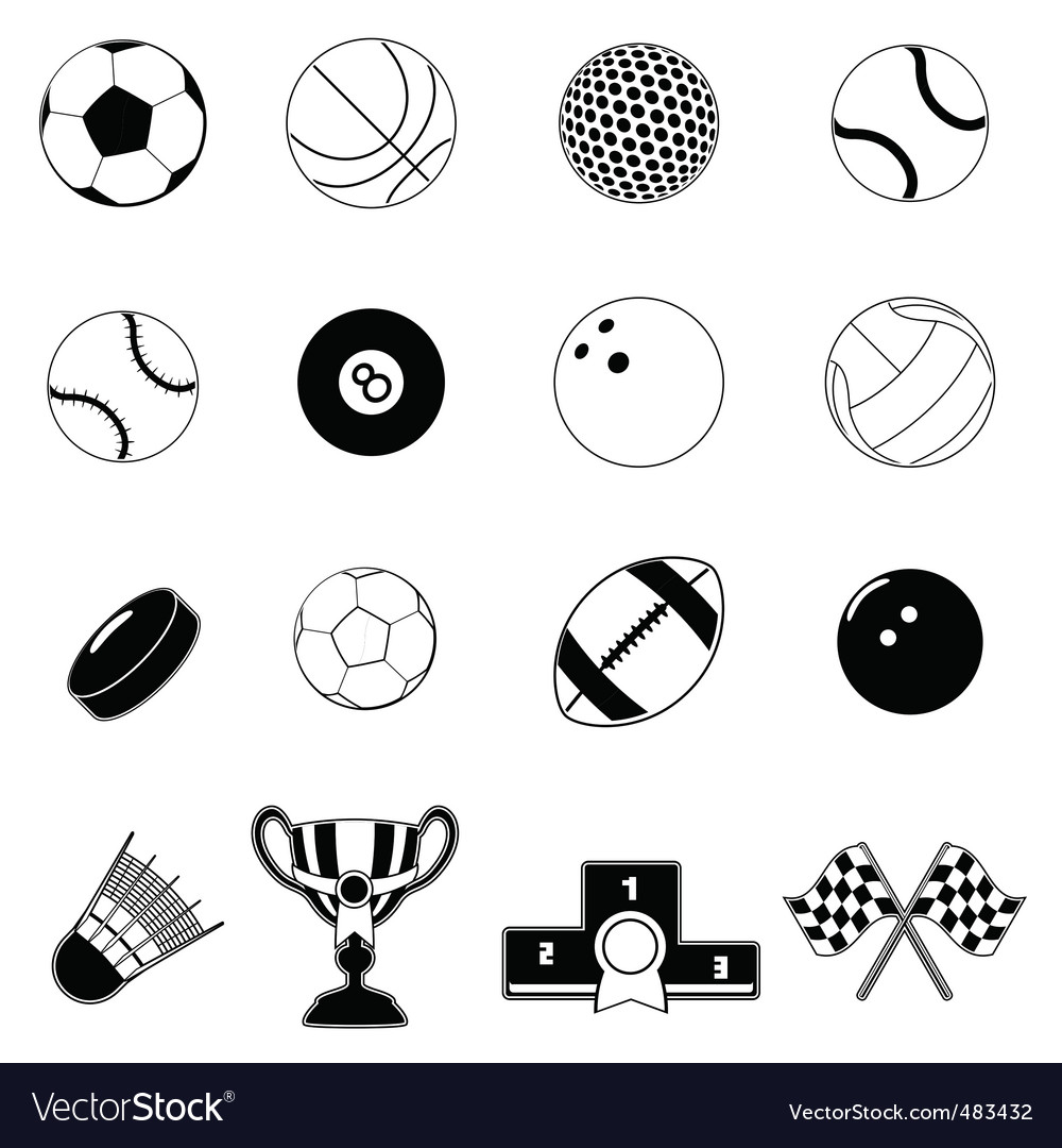 Sport item design elements