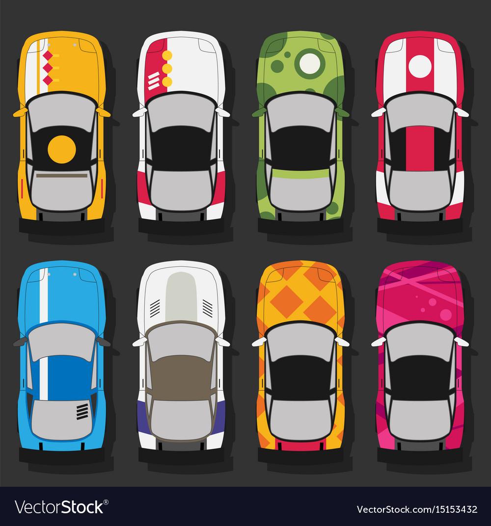 Super sports cars set