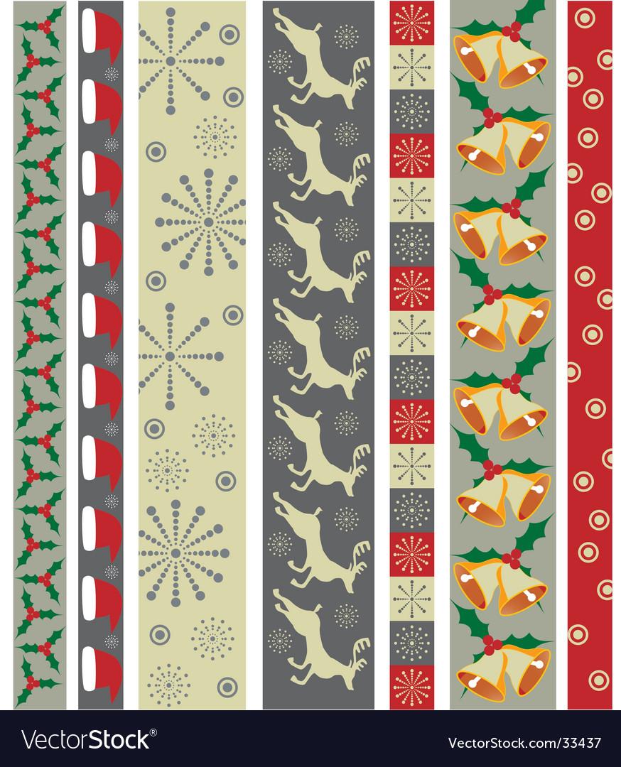 Christmas design border