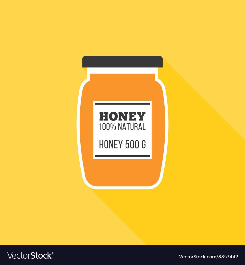 Honey bottle icon