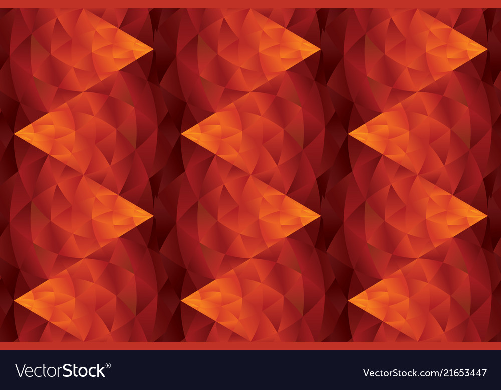 Abstract hot red geometric seamless pattern