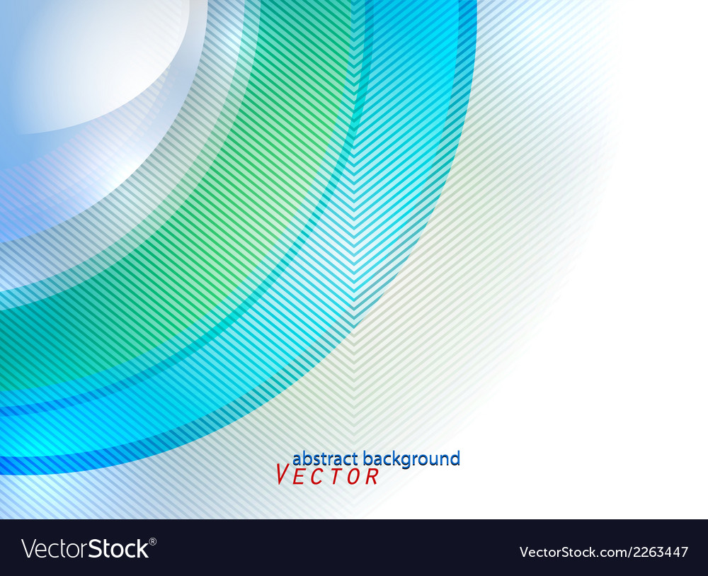 Colorful curve pattern abstract background