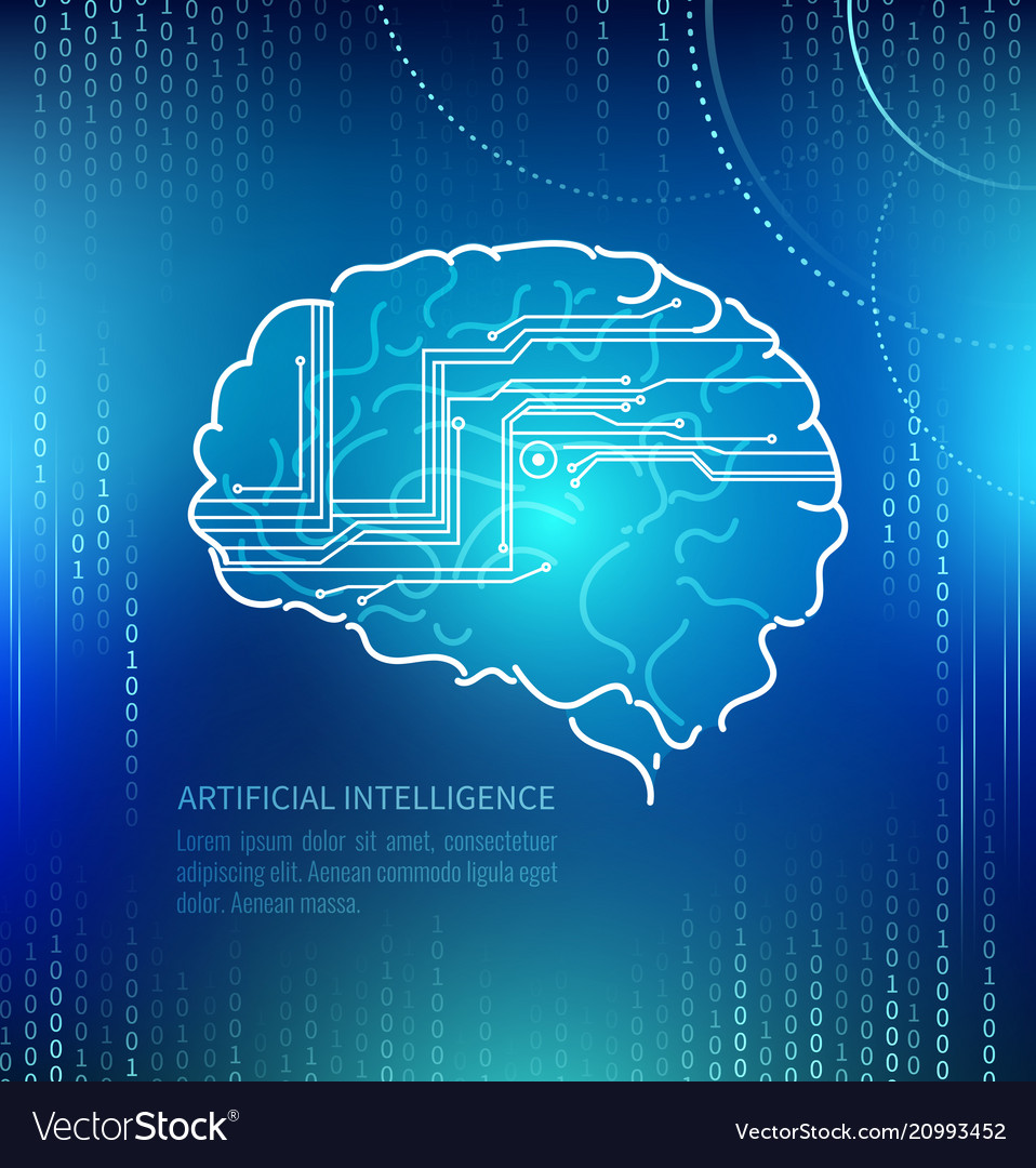 Artificial intelligence brain and circuits