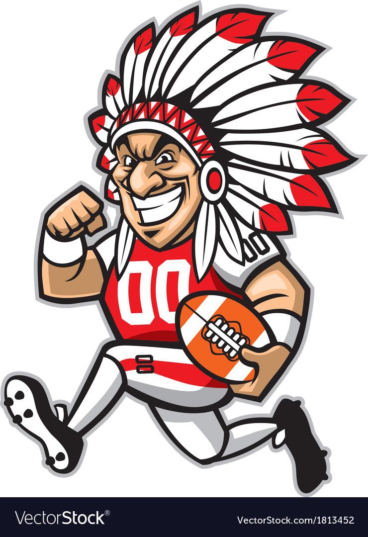 Chief american football mascot