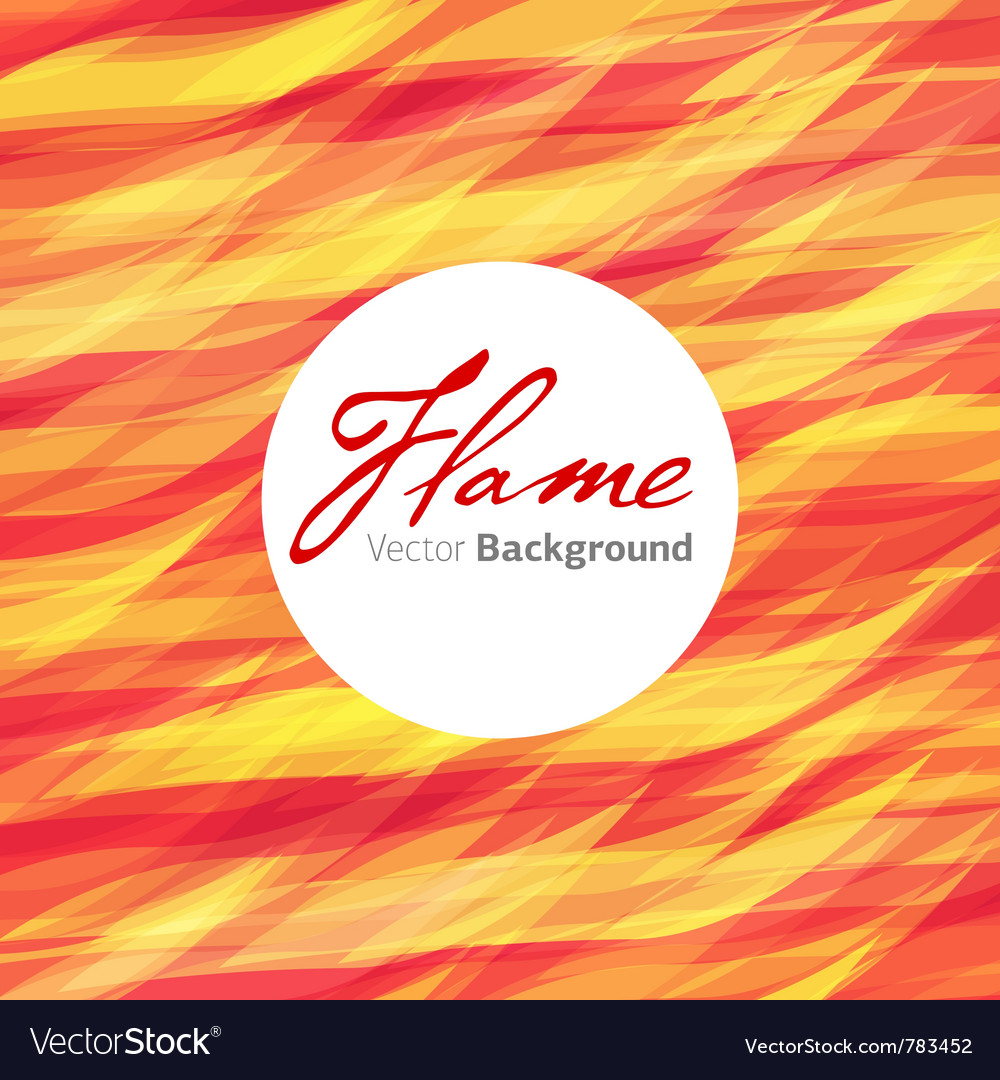 Flame fire background