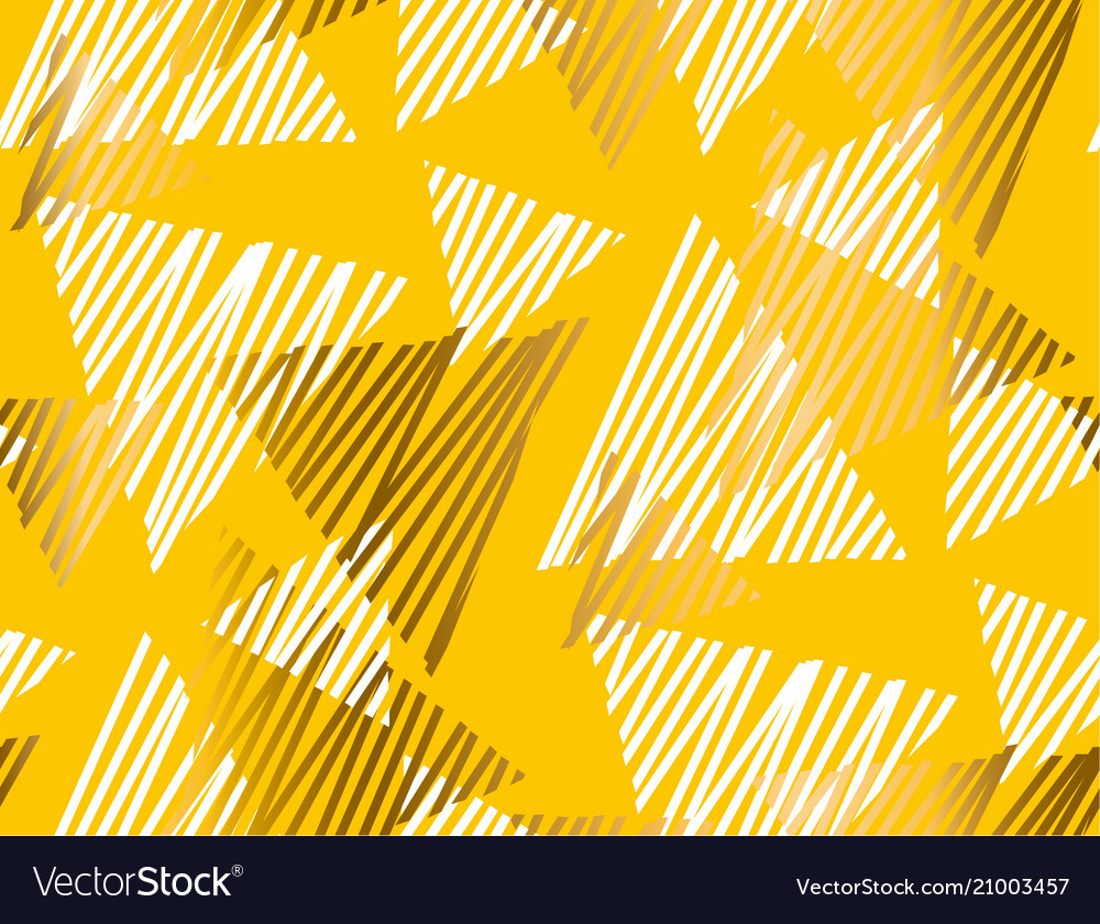 Abstract summer yellow seamless pattern