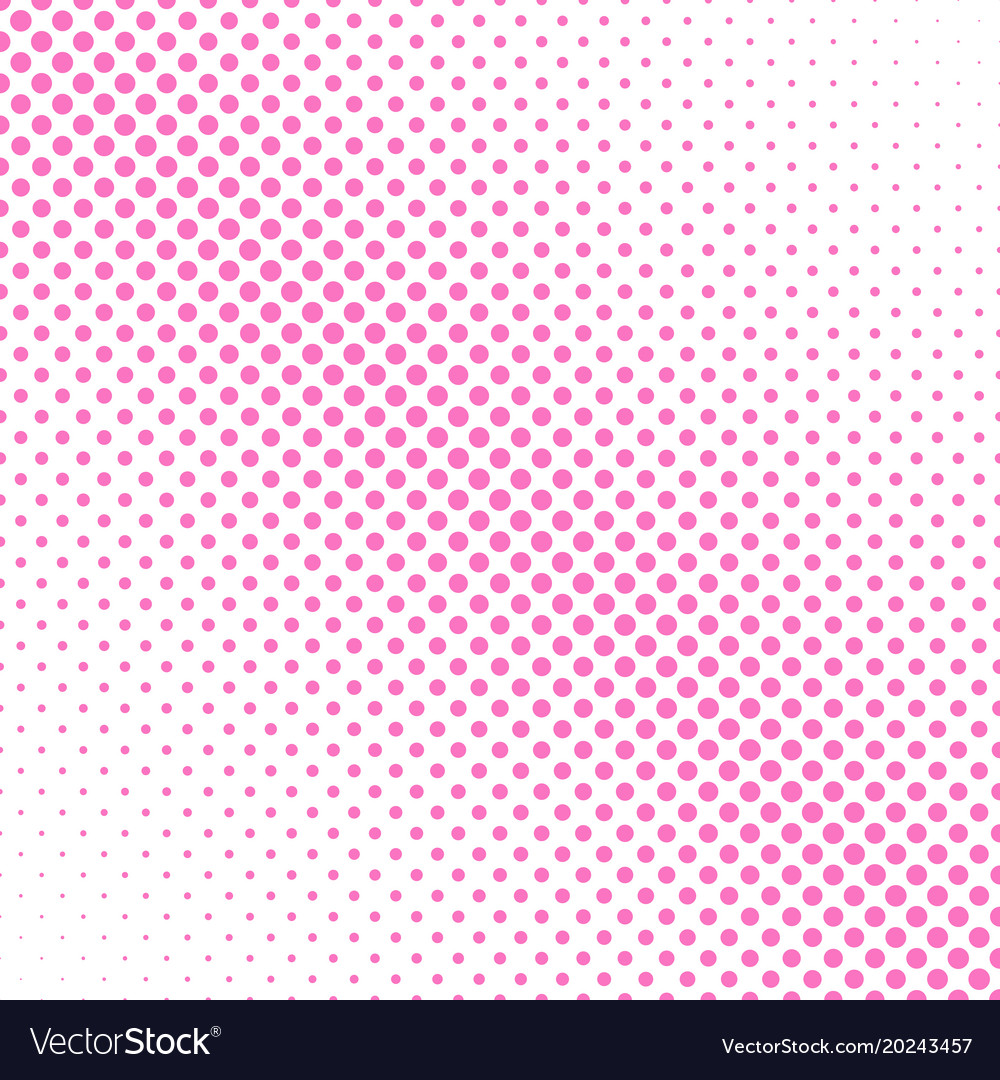Halftone dot pattern background design