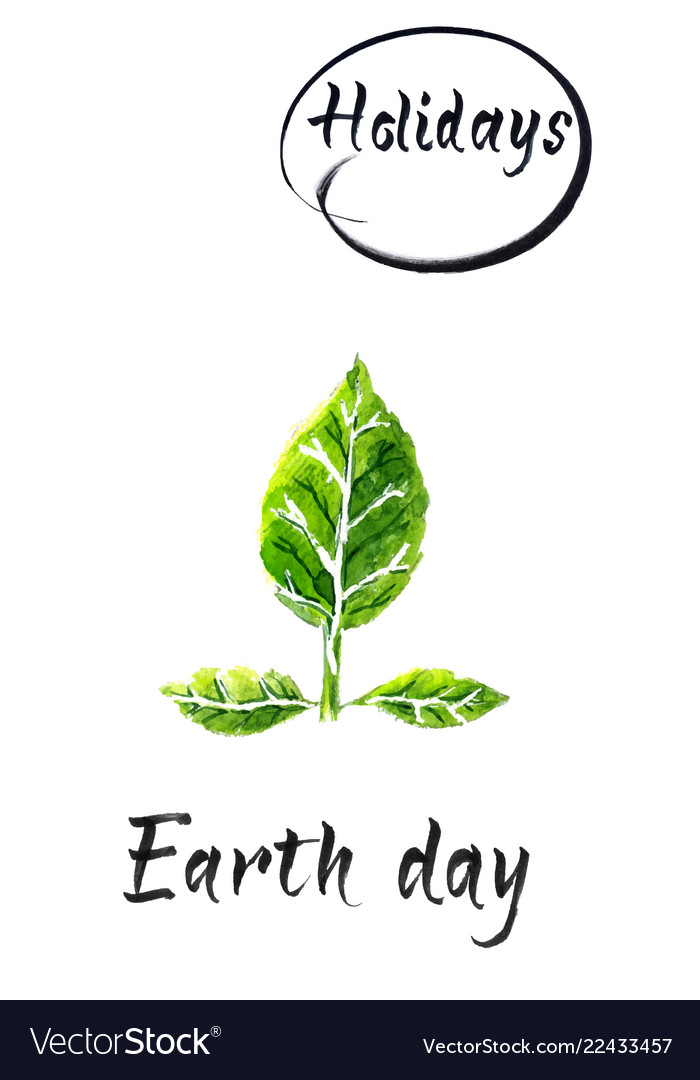 Happy earth day international planet